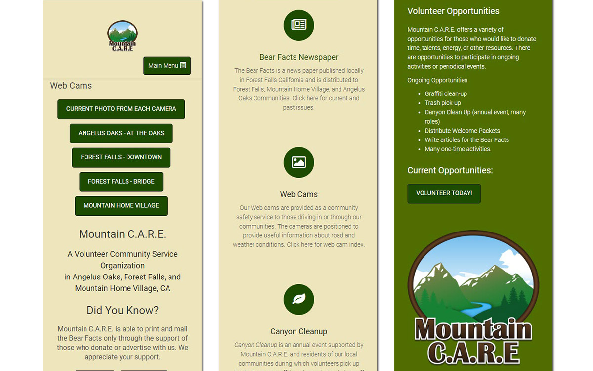 Mountain CARE Slide 3