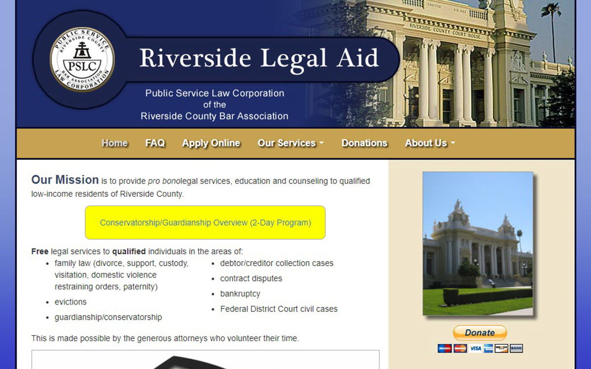 Riverside Legal Aid Slide 1