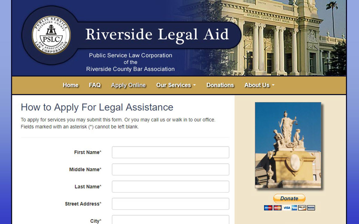 Riverside Legal Aid Slide 2
